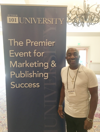Me at the Author 101 University Event